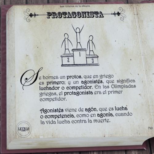 Etimología protagonista